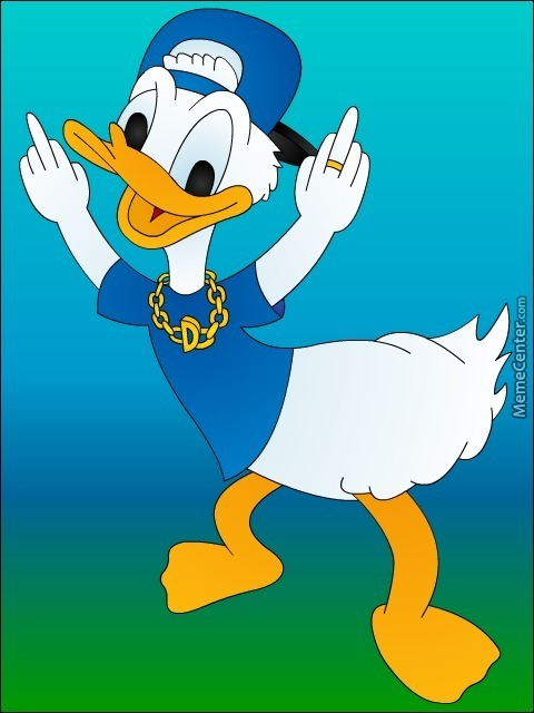 Donald Duck Gangster