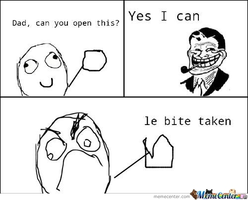 Dont Ask Your Parents To Open Food. . .