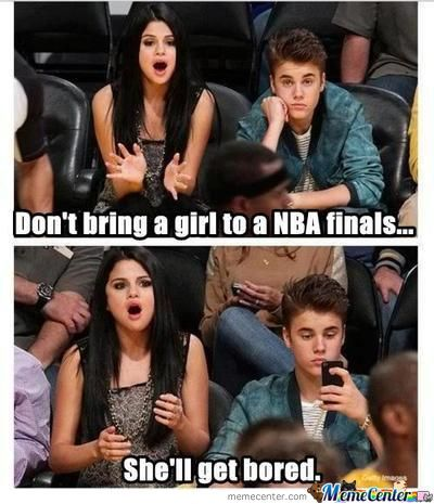 Dont Ever Bring A Girl To A Nba Finals Game