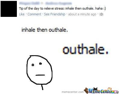 Don't Forget To Outhale