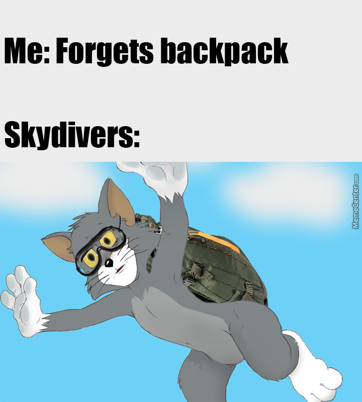 Dont Forget Your Backpack