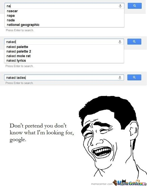 Don't Pretend Google.