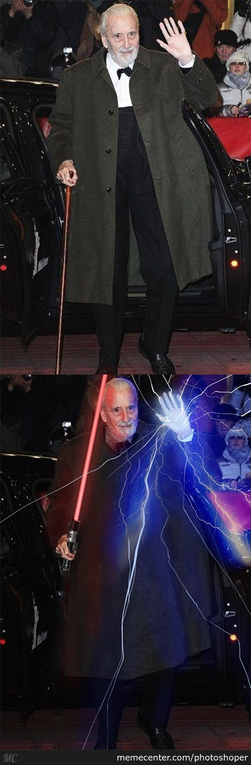 Dooku Can't Leave The Dark The Side