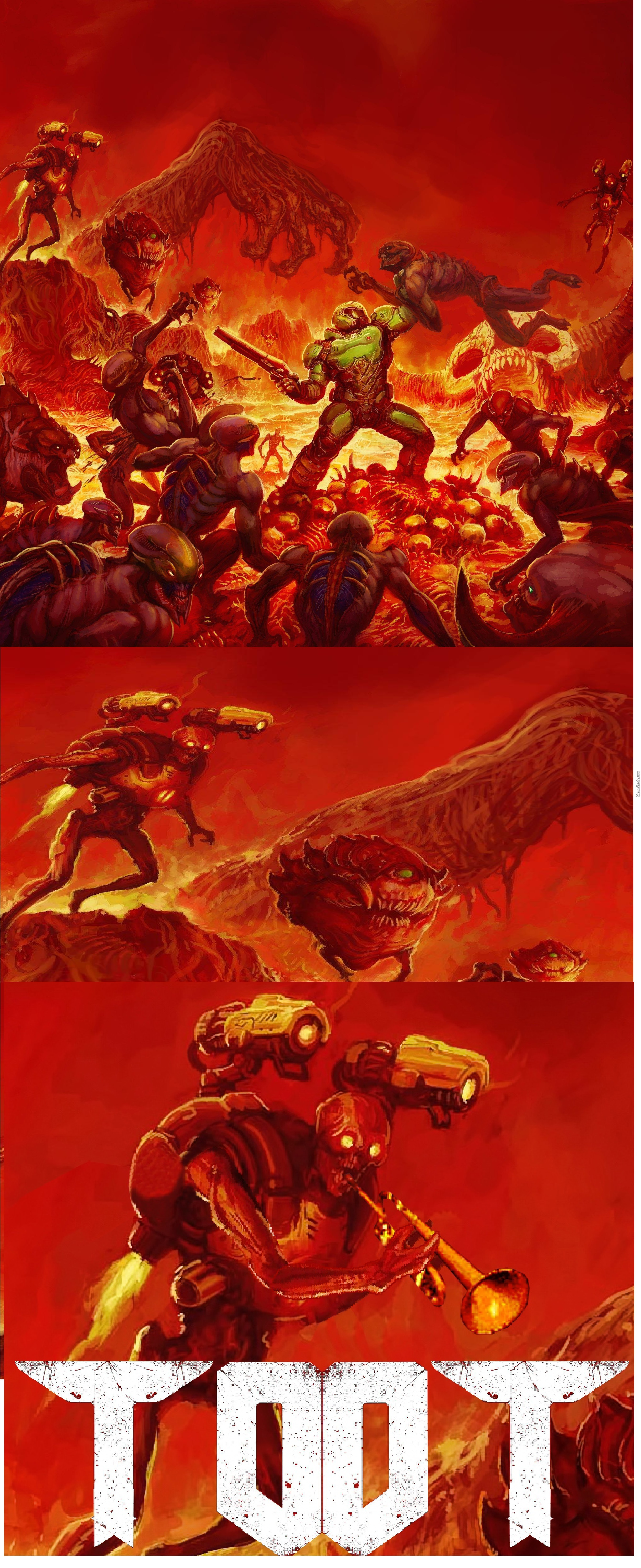 Doom 2016 Cover Is 3Spoopy5Me