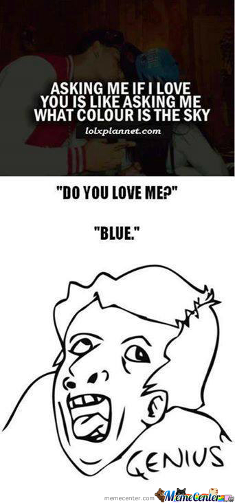 Dou You Love Me? -Blue