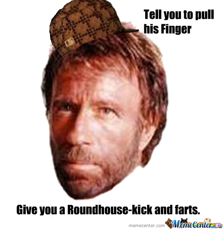 Douchebag Chuck Norris By Recyclebin Meme Center