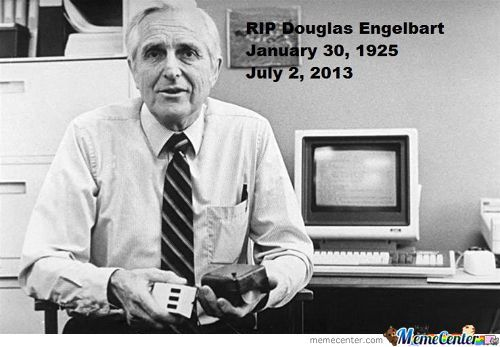 Douglas Engelbart, Father Of The Computer Mouse