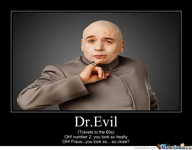Dr Evil By Meltord Meme Center