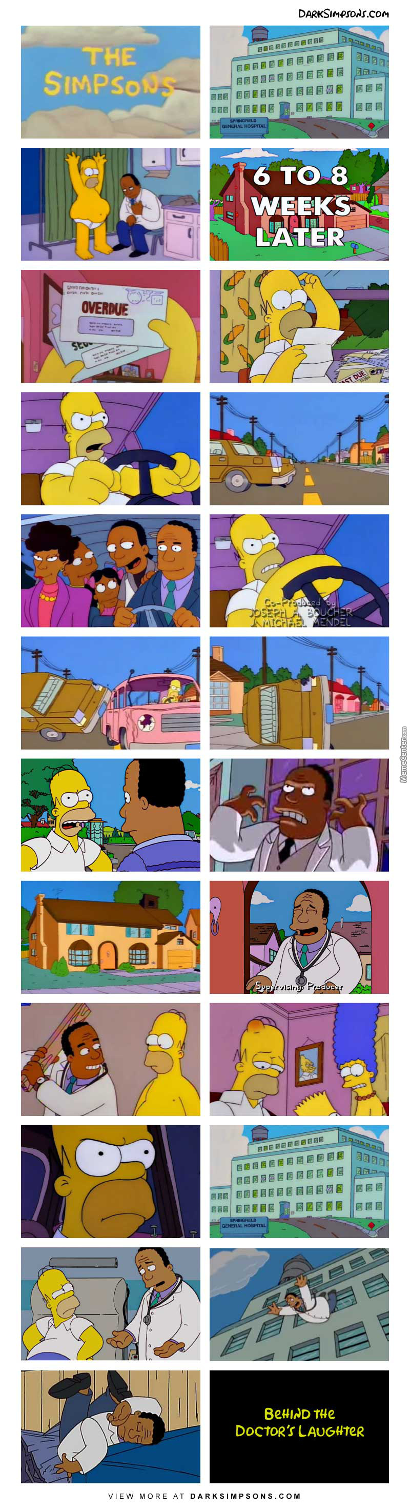 Dr. Hibbert: We're Going To Cut You Open, And Tinker With Your Ticker.