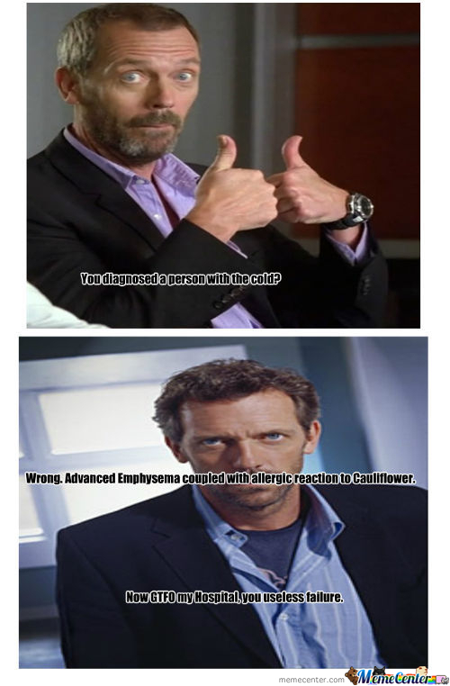Dr. House, Buzzkill M.d.