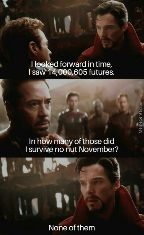 Dr. Strange, You Time Travelling Nut Case