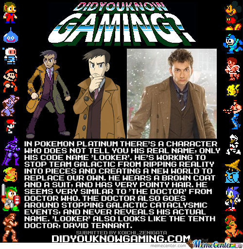 Dr. Who In Pokemon= Mindfuck
