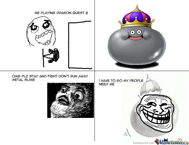 Dragon Quest 8 Metal Slime By Lolabunny413 Meme Center