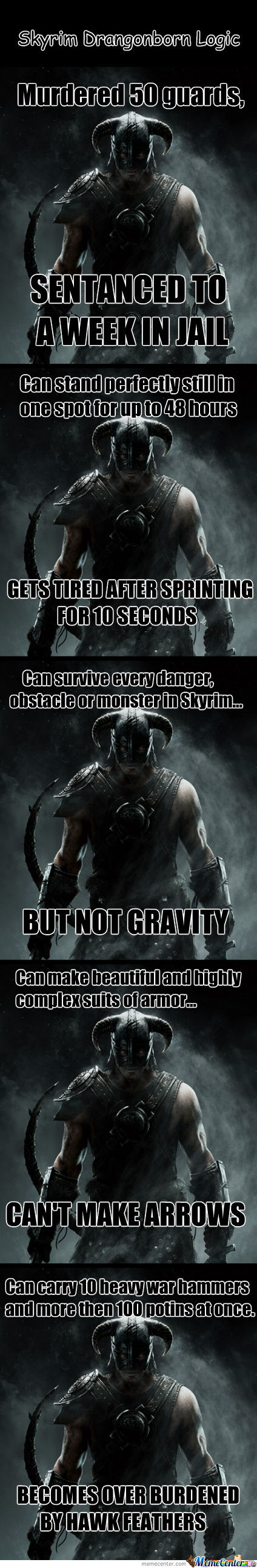 Dragonborn Logic... Nuff Said