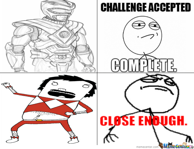 Drawing A Power Ranger