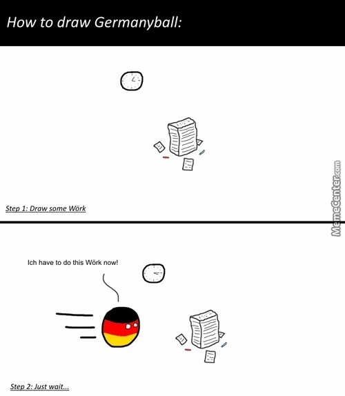 Drawing Germanyball: The Easy Way