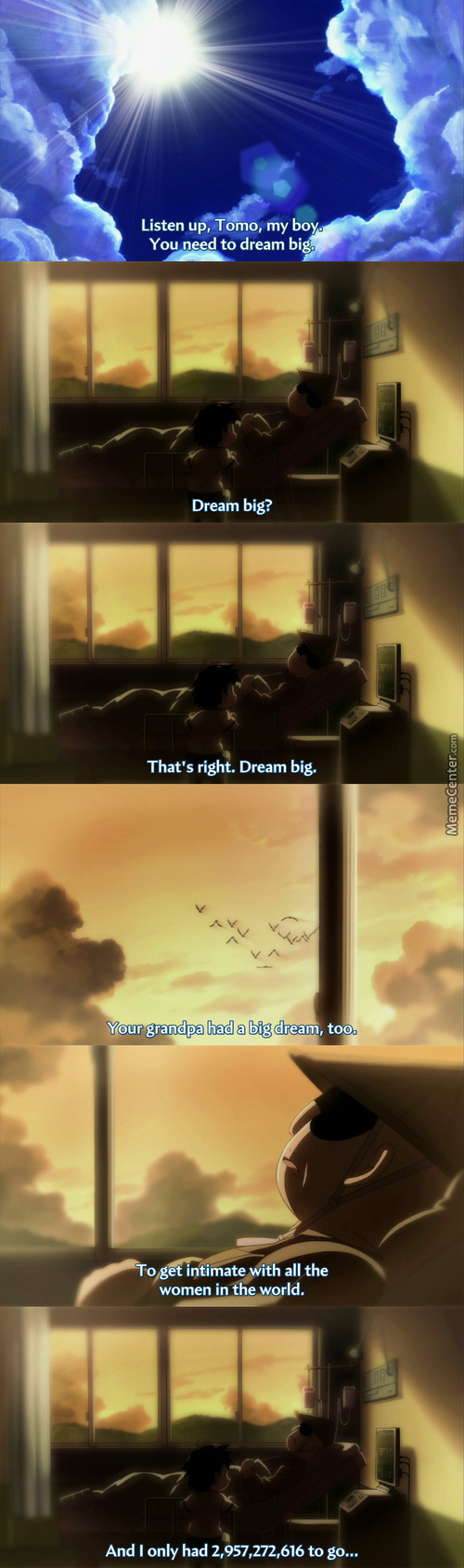 Dream Big! Reach For The Stars (Heavens Lost Property)