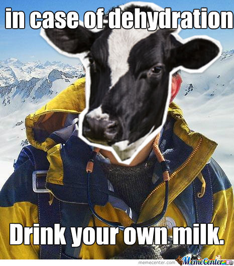 Drink Your Own Milk