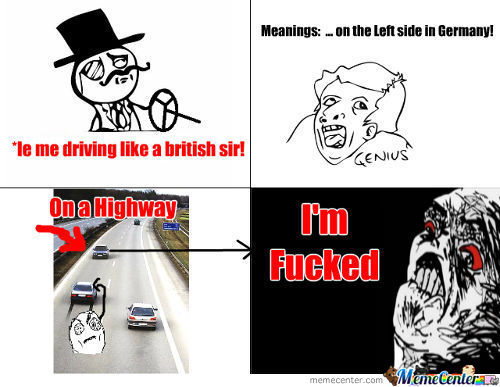 Driving Like A Sir!