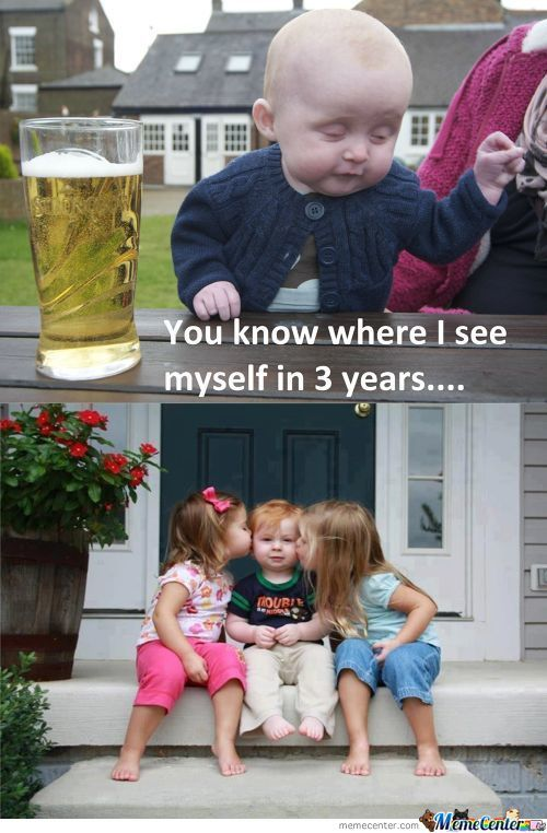 Drunk Baby Is A Hit With The Ladies