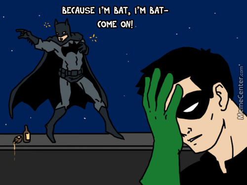 Drunk Batman