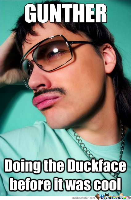 Duckface Before It Was Cool