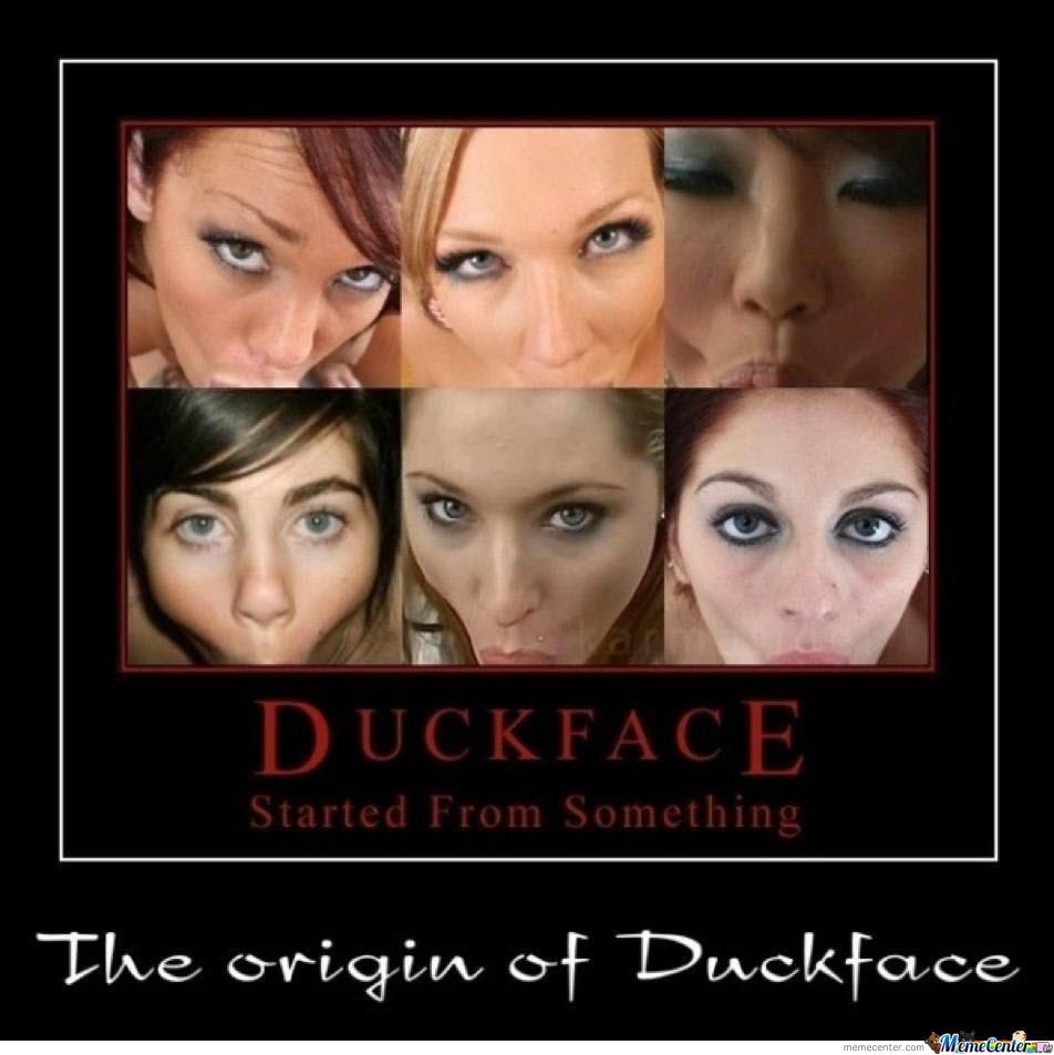 Duckface the origins