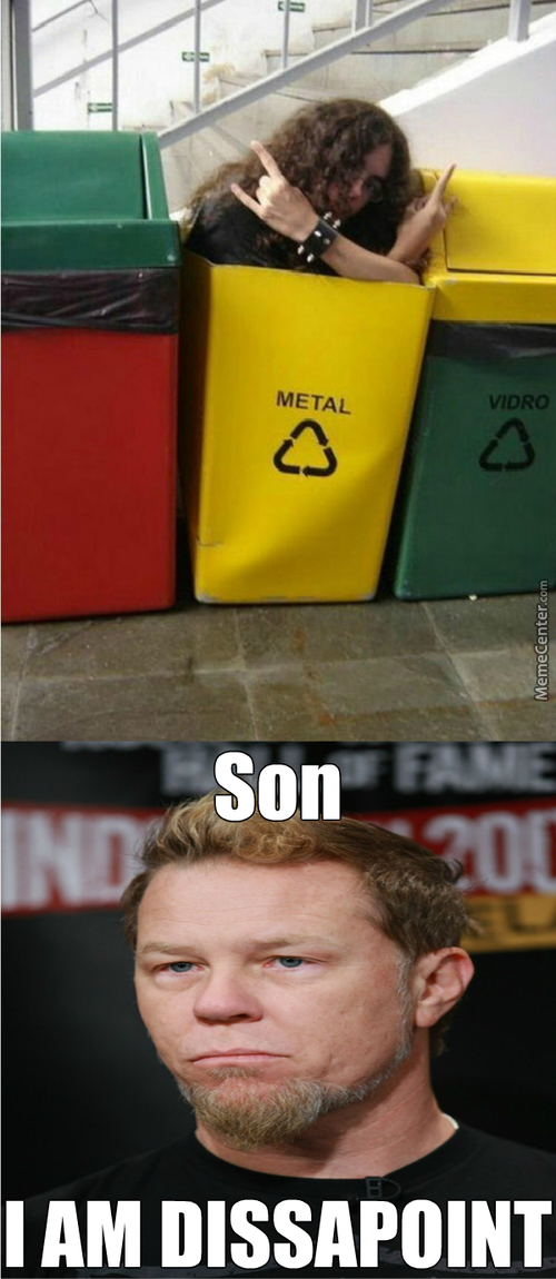 Dude. James Hetfield Is Dissapoint