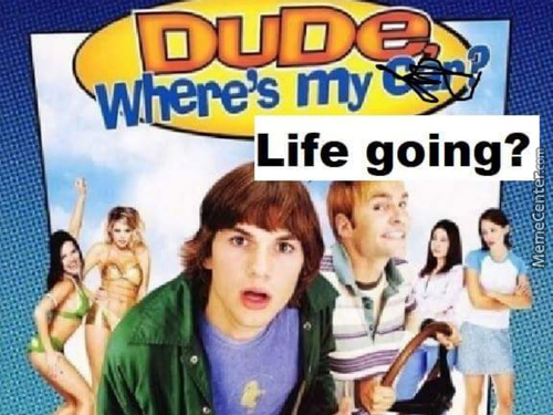 Dude Wheres My Life Going?