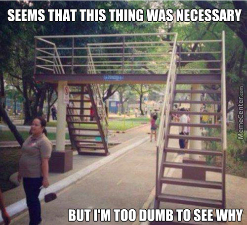 Dumb Stairs