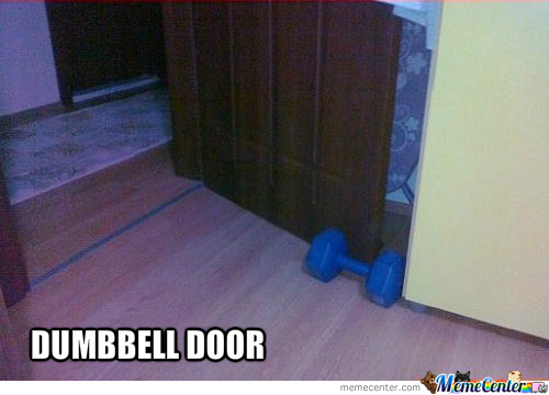 Dumbbell Door