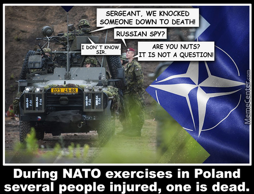 During Nato Exercises In Poland Several People Injured