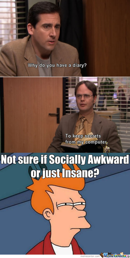 Dwight Being Dwight!