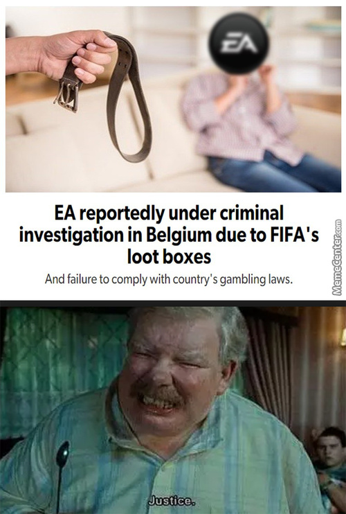 Ea's Actually Greedy Enough To Fight The Ban Of Lootboxes