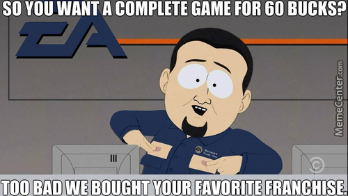 "Ea: ""you'd Better Pay An Additional Fee To Get The Stuff That Should Have Been Included From The Very Start"""