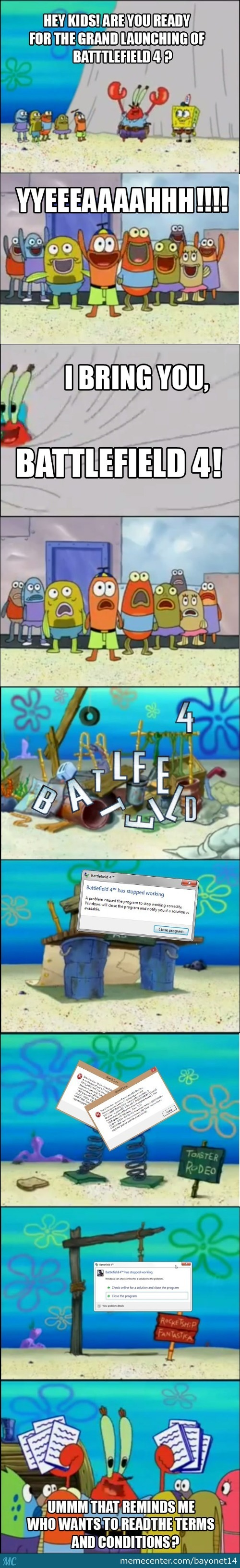 Ea And Battlefield 4 In A Nutshell