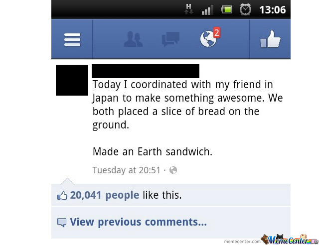 Earth Sandwich