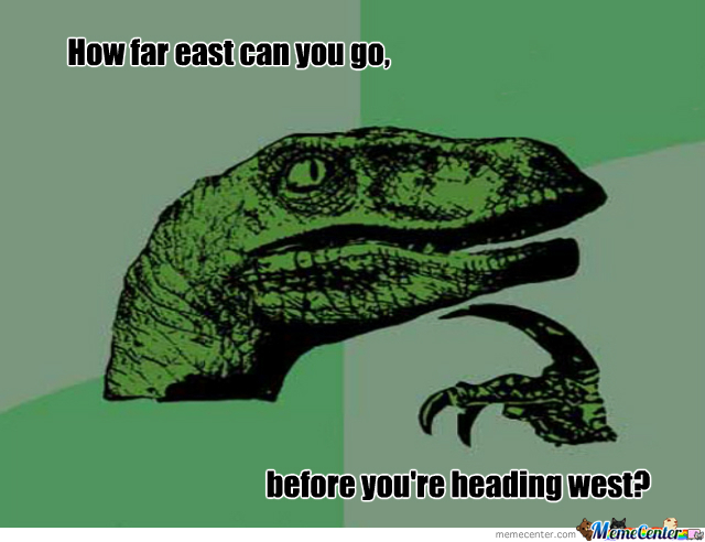 East - West