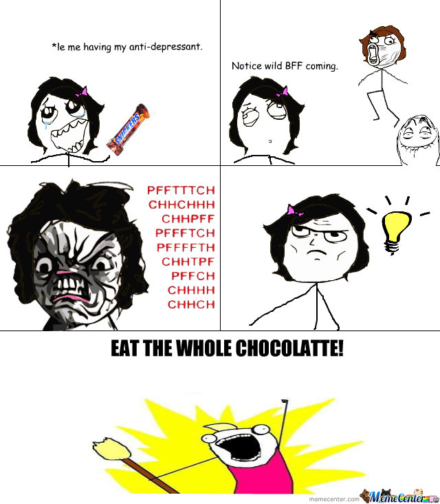 Eat The Whole Chocolatte!