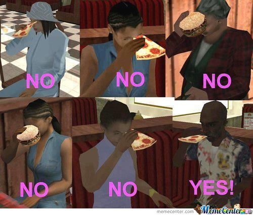 Eating In Gta