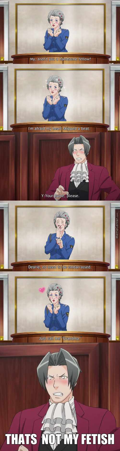 Edgeworth And Old Had Xxx Productions (Ace Attorney)