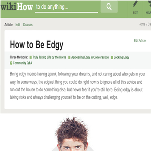 edgy article is edgy by kronoss meme center