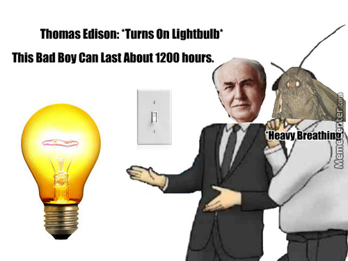 Edison... You've Done It Again!!!