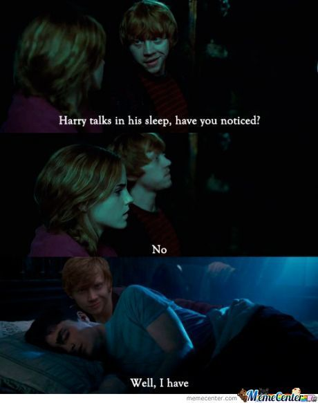 Either Way, Harry Cannot Ron Away!