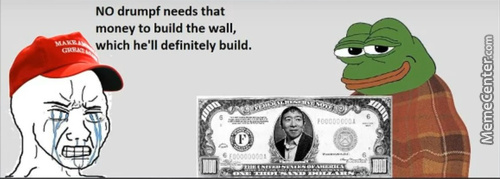 Elect Yang And You Can Build A Private Wall 1K A Month