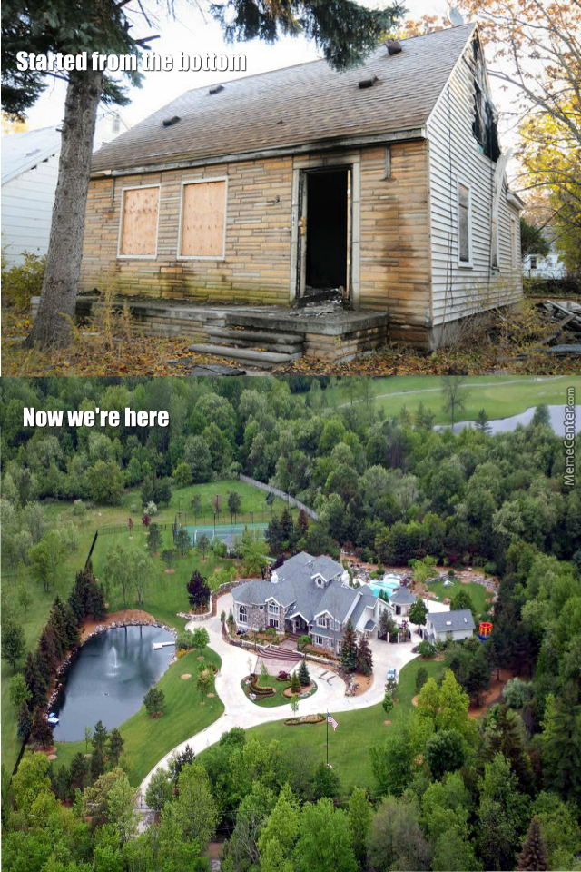 Eminem's Old And New House.