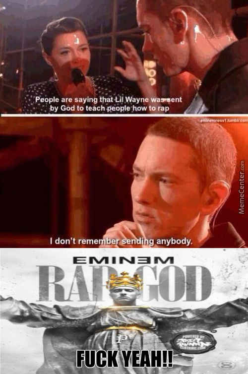 Eminem Just Being Awesome!!