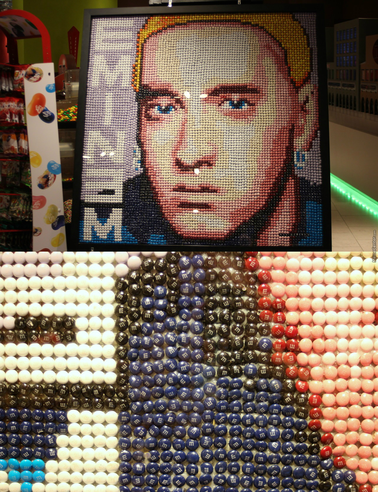 Eminem Made Out Of M&ms;