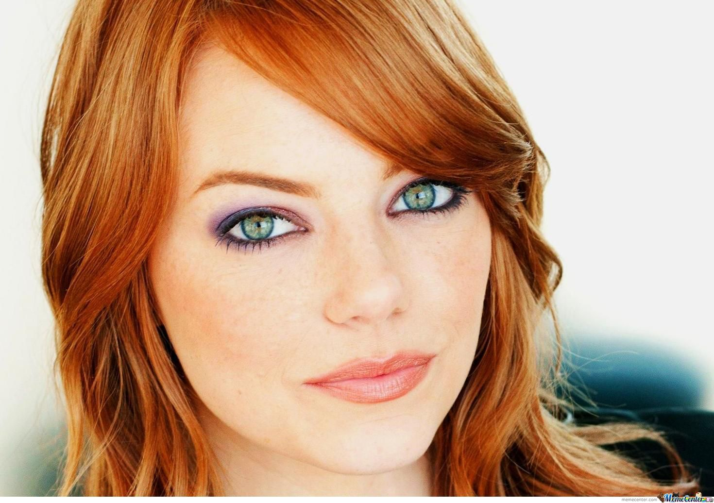 Emma Stone Looks Hotter As A Red Head By Leoramen - Meme Center-9491