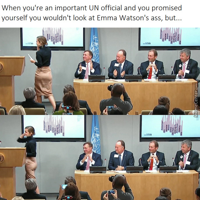 Emma Watson At The Un.